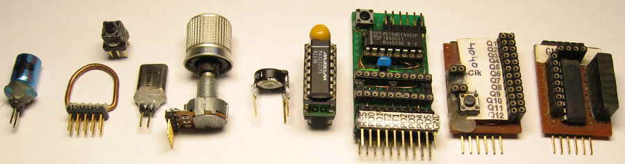Breadboard components example
